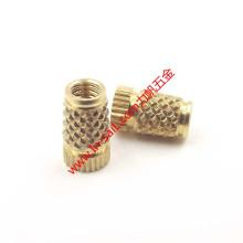 Écrou d'insertion de fil de tuteur de chaleur de grain de diamant de Bt-Type