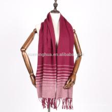 2017 nuevo diseño bufanda larga unisex bufanda de lana