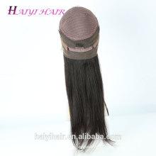 Preço de fábrica de cabelo grandes estoques de entrega rápida cabelo humano peruca cheia do laço em dubai