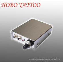 LCD doble mini tatuaje ametralladora fuente de alimentación