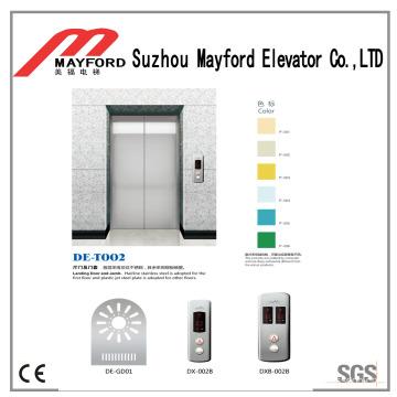 Высокая безопасность для панорамного лифта