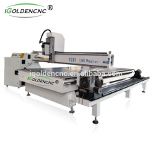 rotation axis wood machine 4 axis cnc router for wood stair