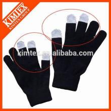 Acrylique personnalisé pour les gants textiles à écran tactile
