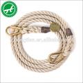 Corde de jute de 6mm, de 8mm pour l'agriculture, marine, emballage, décoration