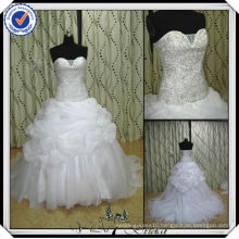JJ2906 Beaded Ball Gown Embroidery Beach Plus Size Wedding Gowns And Bridal Dress 2013