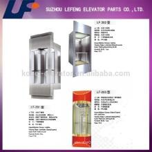 Ascenseurs d'observation en Chine pour visites touristiques, ascenseur de verre pour passagers