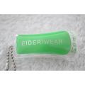 Étiquette de suspension en PVC gonflable imprimé pour Eider Down Wear Label