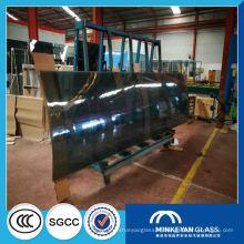 Grands panneaux 4-19mm courbés en verre trempé pour la construction