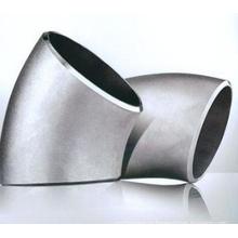 45-градусное колено из нержавеющей стали