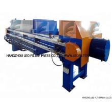Prensa de filtro de membrana de prensado de filtro Leo, membrana de tipo C / W de paquete mixto y prensa de filtro de placa empotrable
