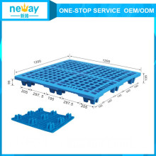 1200 * 1200 * 135 milímetros nova chegada azul Ans 9 pés de paletes de plástico