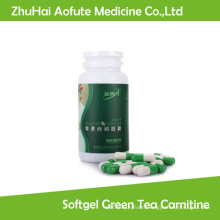 Natural Slimming Softgel Green Tea Carnitine