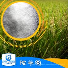 Phosphate monoammonique à haute teneur en humidité