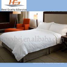 Preiswertes weißes Wegwerfbett-Hotel-Blatt