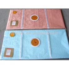 Западно-Африканский одежда материал Гвинея парча жаккард мягкий парфюм гладкий 10 ярдов/мешок