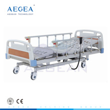 AG-BM104 CE ISO low cost al alloy handrail 3 positions adjustable electric hospital sick bed price