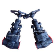 API-Standard geschmiedeter Stahl A105 Gewinde-Ende NPT-Kugelventil