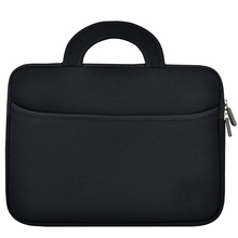 Portable Neoprene Laptop Carrying Sleeve Bag Handle Pocket
