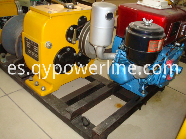 Stringing Equipment Belt Type diesel power winch