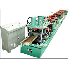 QJ automatic color steel k gutter roll forming machine