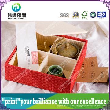 High Quality Custom Printing Wood Gift Box for Tea Packaging