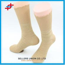 Теплый взрослый случайный жаккардовый вязаный хлопок носок