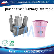 OEM custom plastic trash can injection mould manufacturer