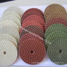 Wholesale diamond concrete polishing pads discos para pulir marmol