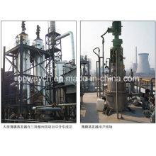 Tfe Distiller à film mince agressif à haute efficacité Équipement de distillation sous vide Rotation Scraper Film Evaporator