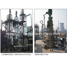 Tfe High Efficient Agitated Thin Film Distiller Vacuum Distillation Equipment Rotation Scraper Film Evaporator