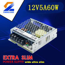 Alimentation d'énergie de LED du conducteur LED 12V 5A 60W