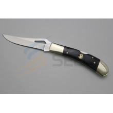 Couteau à couteau à poils et cuisses de cuivre de 7 po (SE-481)