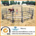 cheap metal tubular holding yards paddock fence rails used fence panel for livestock
