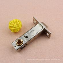 Parafuso de trava de morça de 60 mm com trava simples, tração quadrada, acabamento acetinado