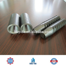 high quality taper thread rebar coupler splicers and rolling machines