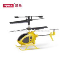 SYMA S6 helicóptero mini rc mais novo com helicóptero indoor giroscópio