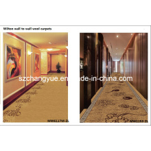 Machine tissée Wilton Wall to Wall Wool Hotel Tapis pour corridors