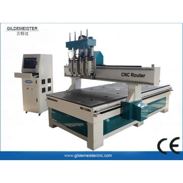 Vierköpfe CNC-Fräsmaschine