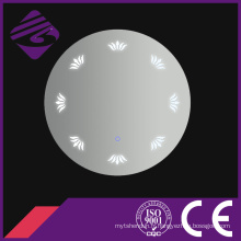 Jnh210 mur monté LED lumineux pièces de miroir de salle de bain ronde