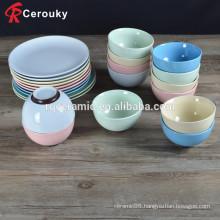 Attractive design FDA SGS approved ceramic bowl