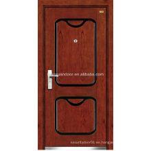 Puertas metálicas huecas puerta ignífuga de acero