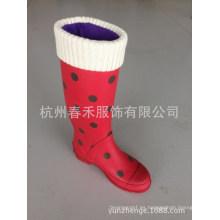 Calcetines Fleece Rain Boot Calcetines Calcetines Wellie Rain Boot Fleece