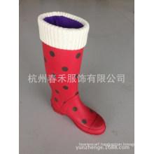 Fleece Rain Boot Socks Liners Wellie Rain Boot Fleece Socks