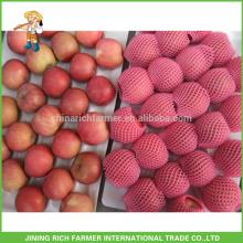 Billige Fuji Apple # 100, # 120 und # 133. 18kg / Karton gewachsen in Papierbeutel Grade A. Frischer Apfel