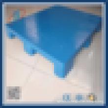 Плоская грань с тремя бегунами пластмассовый крепкий поддон