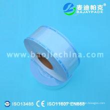 Material de embalaje médico de carrete plano termosellable