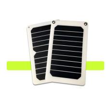 6.5watt 5v sunpower carregador solar eficiente painéis solares para laptop celular
