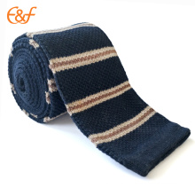 Custom Low Price Cotton Knitted Tie For Men