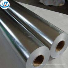 tuyau en aluminium de grand diamètre, tuyau rond en aluminium