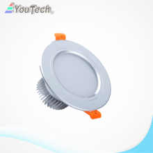 Luz blanca fría 7w led downlight